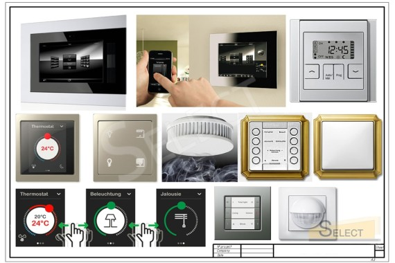 Engineering equipment smart home system