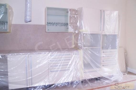 монтаж сборка кухонной мебели цезарь в доме