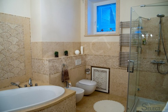 Photo of the combined bathroom in the apartment Forged furniture and decor elements - Robers
