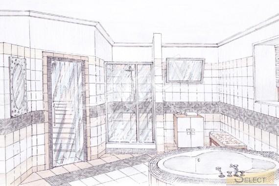 Дизайн Велнес зона в загородном коттедже