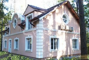 Фото фасада коттеджа