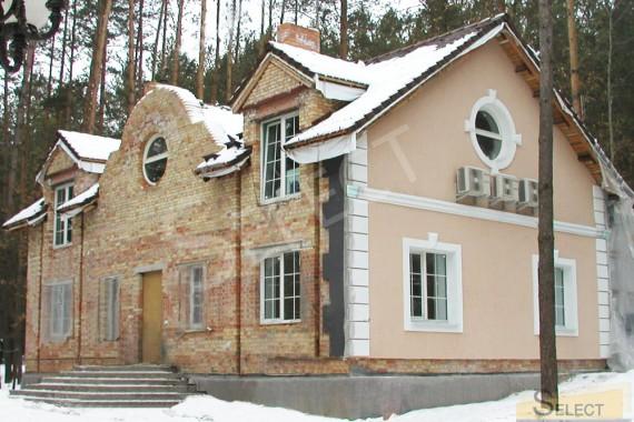 Фото готового торца здания фасадные работы в коттедже
