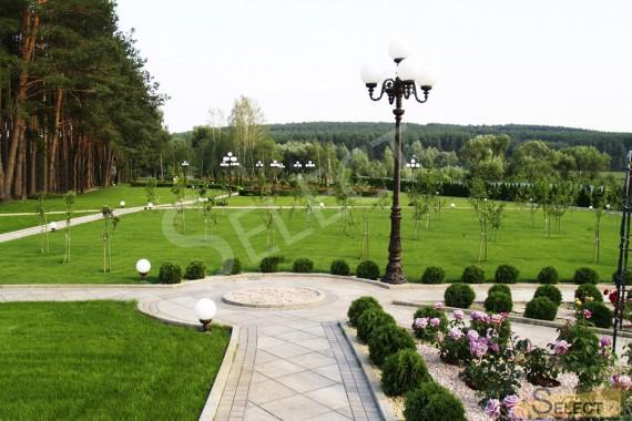 Фото ландшафтного дизайна фруктовый сад м поляна для игр