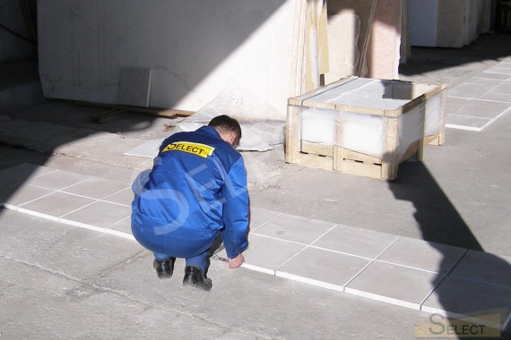 Укладка Тротуарная плитка, мраморная отсыпка, натуральный камень – Ariostea, I Conci, I.VE.CO . Marmi, Granulati Zandobbio, Ceramiche Coem