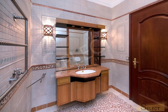 Photo Bathroom in the basement