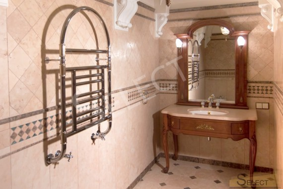 Фото ванной комнаты с римскими мотивами