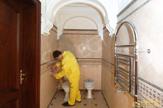 Монтаж аксессуаров санузла и сантехнических принадлежностей